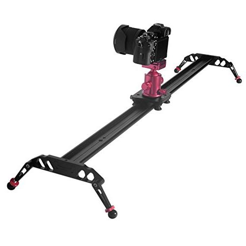 """Fomito 47"""" Slider Stabilizer with CNC for DSLR Video"""