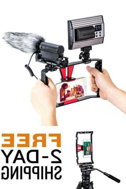 Smartphone Video iPhone Recording Rig Case Phone Stabilizer