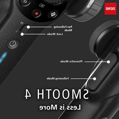 Zhiyun Smooth 4 3-Axis Handheld Gimbal Gopro Stabilizer For Smartphones iPhone