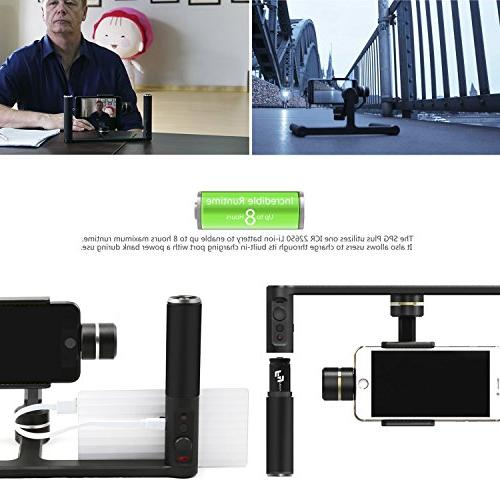 FeiyuTech Plus Dual Handle Five Screw Ports Flashes Tripods Phone Clips