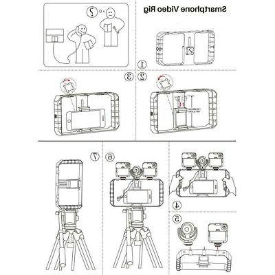 """Cell Video Camera Cage Making Samsung 4-7"""""""