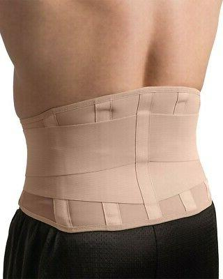 Swede-O Back Stabilizer Beige Support Relieve Pain