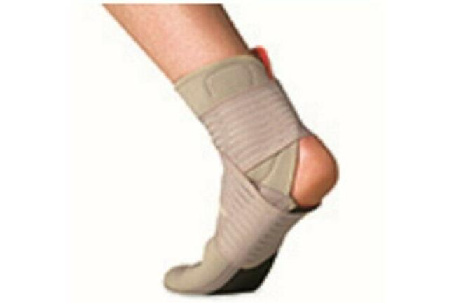 two 2 beige afg stabilizer ankle support