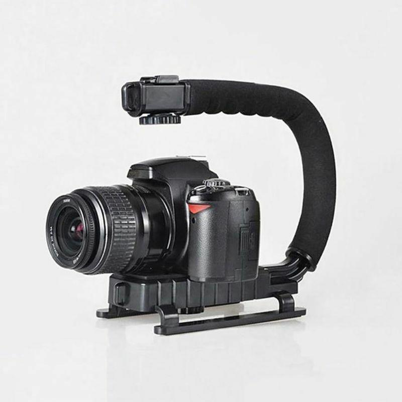 Video Camera Mount Grip for Iphone Canon DSLR