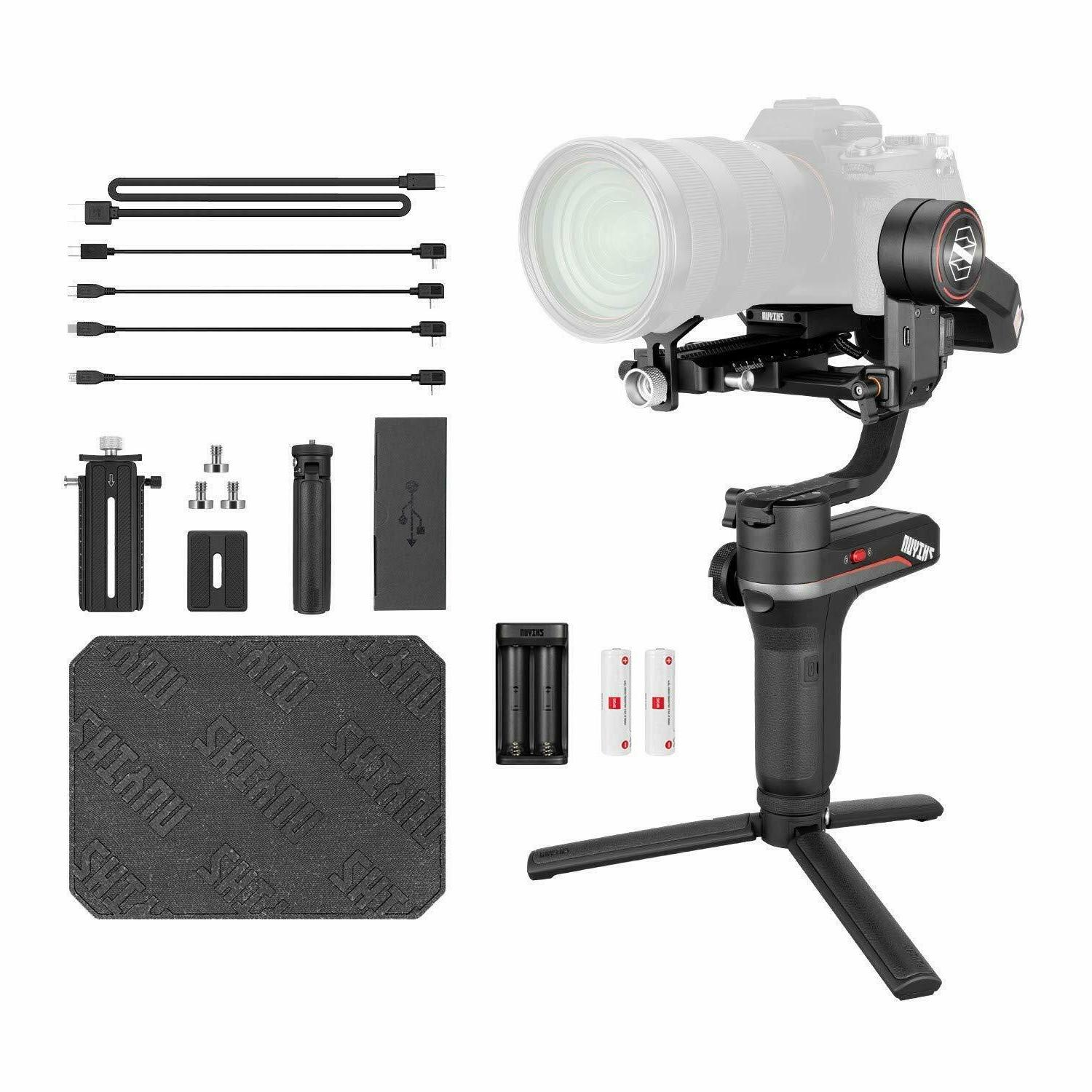 US Ship Zhiyun WEEBILL S 3-Axis Gimbal Handheld Stabilizer F