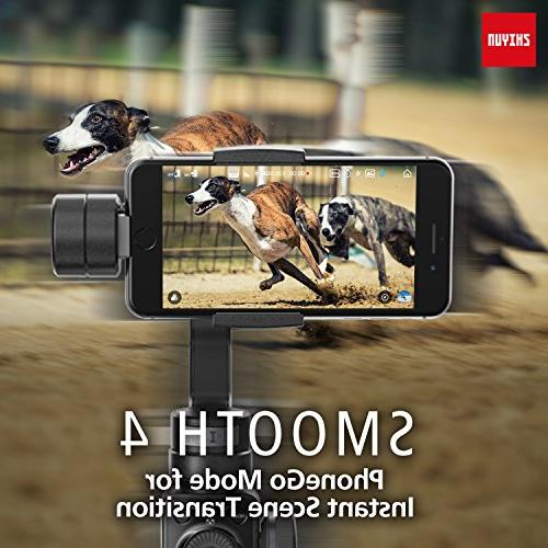 Zhiyun Smooth 3-Axis Handheld Phone Camera w/Focus Pull&Zoom for iPhone Xs X/8 Samsung S9+/S8/S7/S6