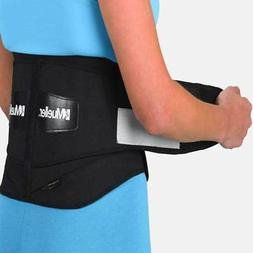 Mueller Lumbar Back Brace with Removable Pad Extra Stability