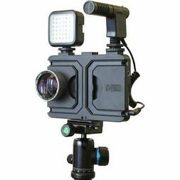 Melamount MM-IPHONE7PLUS Video Stabilizer Pro Multimedia Rig
