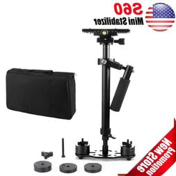 "New S60 Handheld Steadicam/Camera Stabilizer 24""/60cm Quick"