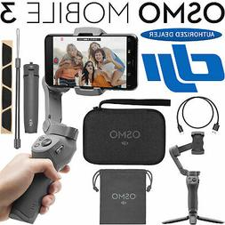osmo mobile 3 gimbal stabilizer for smartphones