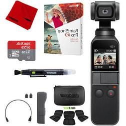 DJI Osmo Pocket Handheld 3-Axis Gimbal Stabilizer + 32GB Sto
