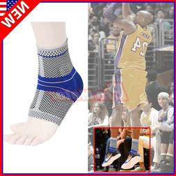 Pain Tendon Relief Compression Sleeve Ankle Brace Support St