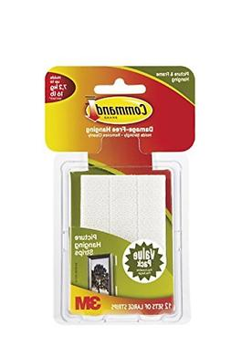 Command Picture & Frame Hanging Strips, Large 12 Pair