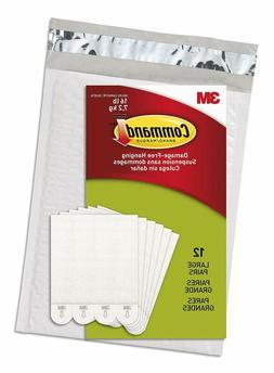 Command Picture & Frame Hanging Strips Value Pack, Large, Wh