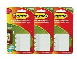 Command Picture Hanging Strips, Small, White, 8-Strip , 3 pa