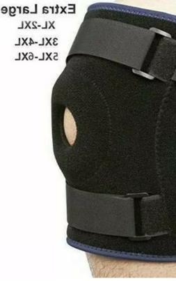 Nvorliy Plus Size Knee Brace XL 2XL Extra Large Open-Patella