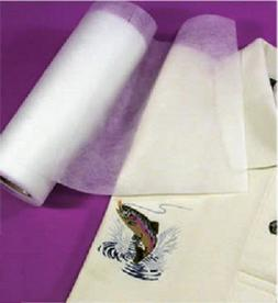 """Iron On PolyMesh Embroidery Stabilizer Cut Away 8""""x10YD"""