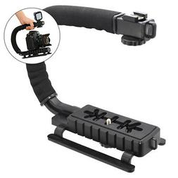Pro Video Stabilizer Rig Grip Handle Mount for DSLR Cameras