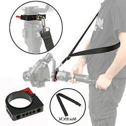 Ronin-S Shoulder Strap Clamp Ring Adapter for Flash Rode Vid