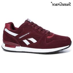 SusuGrace running shoes for Men outdoor sport trainers breat