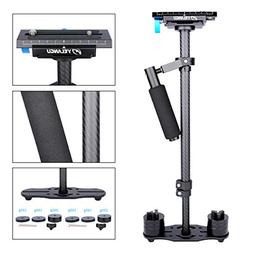 "YELANGU Carbon Fiber 24""/60cm Handheld Stabilizer with 1/4"""
