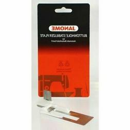 Janome Sewing Machine Buttonhole Stabilizer Plate New