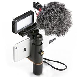 Mouriv Smartphone Video Rig,iphone Video Accessories Phone V