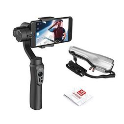 Smooth 4 3-Axis Handheld Gimbal Stabilizer, Bluetooth Contro