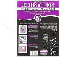 Sulky Soft and Sheer Cut-Away - 8 Inch by 11-Yard  - Permane