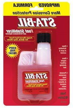 Sta-Bil Fuel Stabilizer Concentrate 4 oz Bottle for 2 and 4
