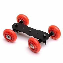 Zeadio Table Top Portable Dolly Mini Car Slider Skater Wheel