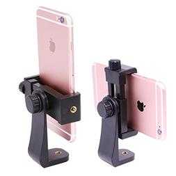 Tripod Mount Vertical Bracket Holder Phone Clip Tripod Adapt