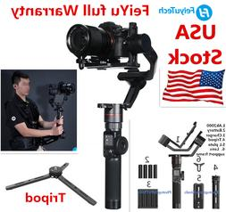 US STOCK* Feiyu AK2000 3-Axis Camera Stabilizer Gimbal 360°