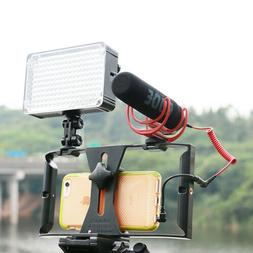 Video Camera Cage Stabilizer Film Making Rig Mount for Cell