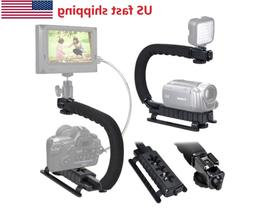 Video Stabilizer Camera Action Dslr Handle Grip Rig Phone Tr