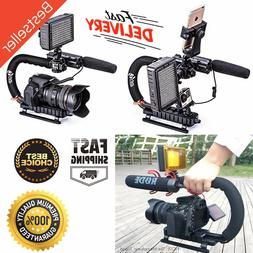 Video Stabilizer Camera Dslr Handle Grip Rig Set iPhone 7 Pl