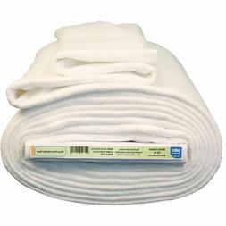 Pellon White Cotton Batting with Stabilizing Scrim Binder 96