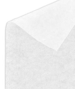 White Medium Weight Fusible Interfacing Fabric - by the Yard
