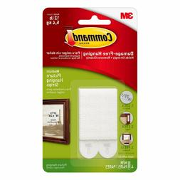 Command White Medium Picture Hanging Strips 4 ea